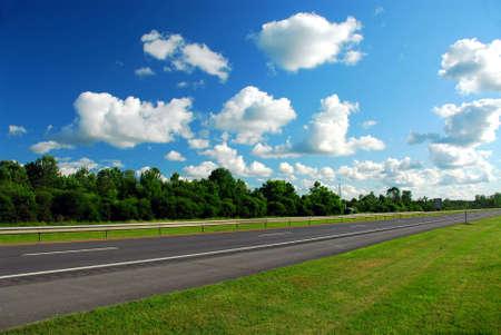empty road: Empty road Stock Photo