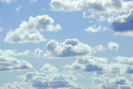 Pale cloudy sky background Stok Fotoğraf