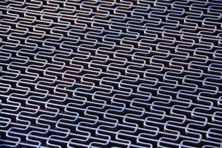 metal grid: Abstract metal grid background Stock Photo