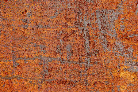 oxidado: Rusty metal resumen de antecedentes