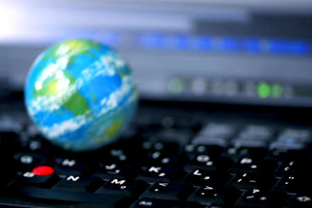 Concept of global internet connectivity or international business Stock Photo - 541300