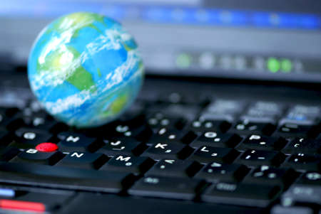 Concept of global internet connectivity or international business Stock Photo - 546812