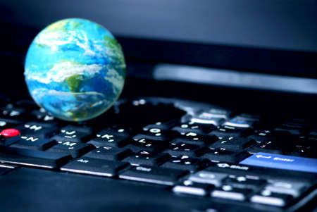 Concept of global internet connectivity or international business Stock Photo - 552567