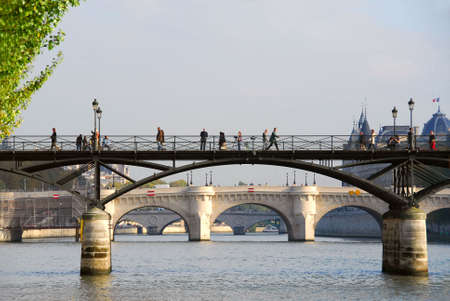 Stone bridges over Seine in Paris France Stock Photo - 609318