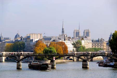 Stone bridges over Seine in Paris France Stock Photo - 609316