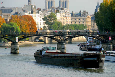 Stone bridges over Seine in Paris France Stock Photo - 609317