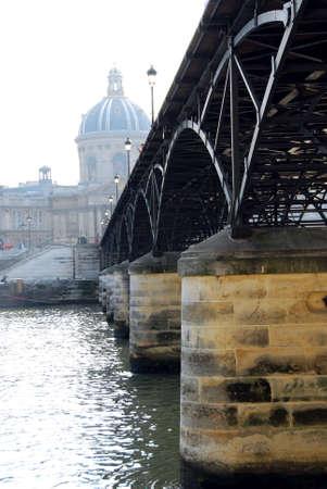 Stone bridge over Seine in Paris France Stock Photo - 609313