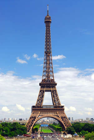 View of Eiffel tower from Trocadero. Paris, France. Stock Photo - 1327212