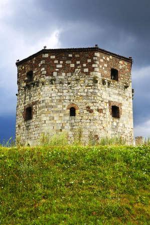 Historic Nebojsa tower at Kalemegdan in Belgrade