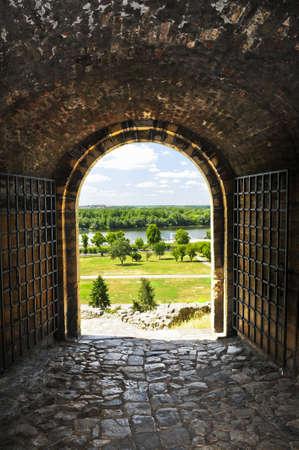 serbia: Gateway to Kalemegdan fortress in Belgrade Serbia