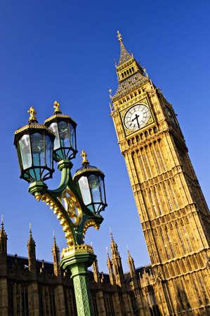 Big Ben et chambres du Parlement de Londres  Banque d'images - 5660997