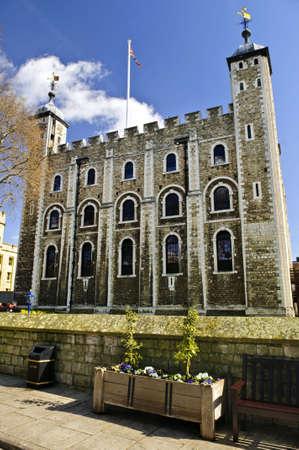 Tower of London historic building in England Stock Photo - 6020642