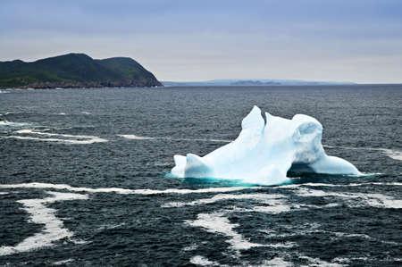 Melting iceberg off the coast of Newfoundland, Canada Stock Photo - 6020773