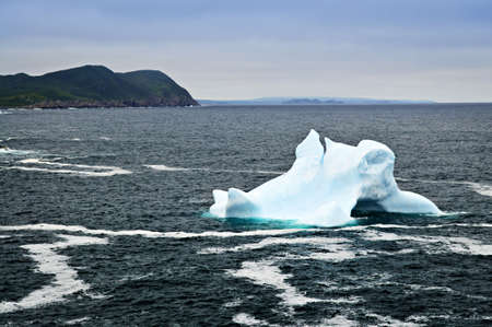 nfld: Melting iceberg off the coast of Newfoundland, Canada