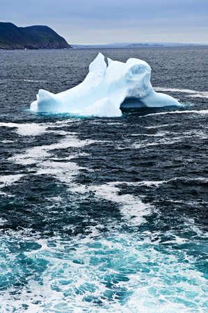 Melting iceberg off the coast of Newfoundland, Canada Stock Photo - 6020622