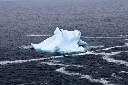 Melting iceberg off the coast of Newfoundland, Canada Stock Photo - 6031726