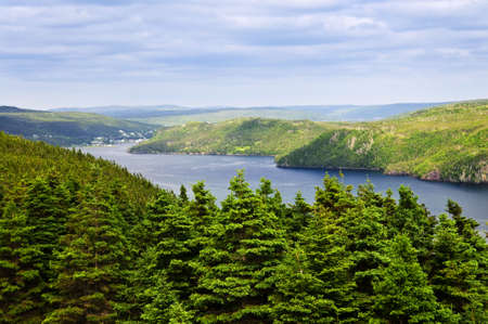 atlantic: Scenic view of Placentia bay in Newfoundland, Canada