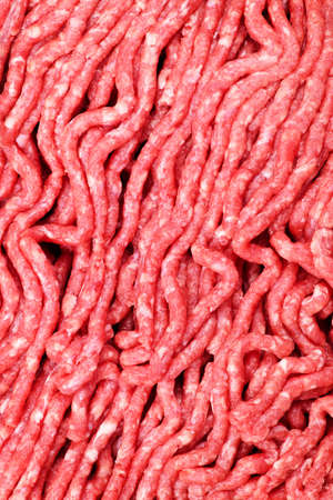 Close up of lean red raw ground meat Stock Photo - 6307728
