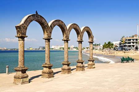 jalisco: Los Arcos Amphitheater at Pacific ocean in Puerto Vallarta, Mexico