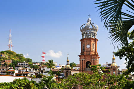 Our Lady of Guadalupe church in Puerto Vallarta, Jalisco, Mexico Stock Photo