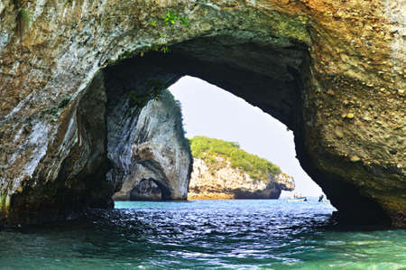 Los Arcos National Marine Park in Mexico near Puerto Vallarta