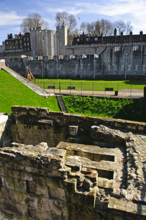 Tower of London historic building in England photo