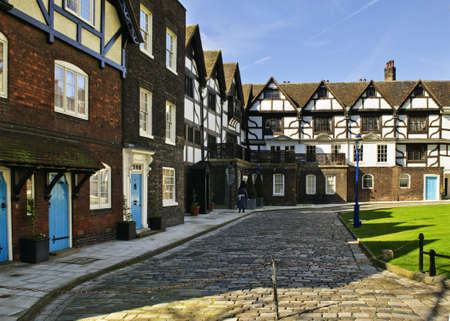 luitenant: Queens House building in Tower of London