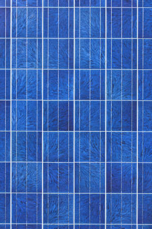 electric grid: Surface of alternative energy photovoltaic solar panel Stock Photo
