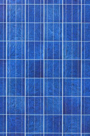 Surface of alternative energy photovoltaic solar panel Imagens