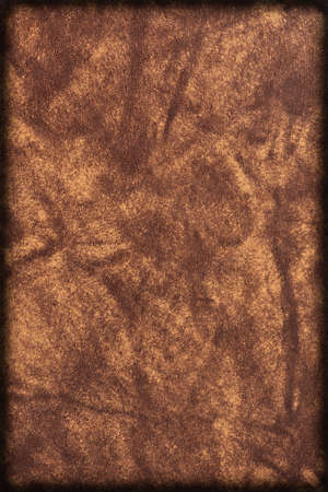 Background of brown imitation leather book cover photo