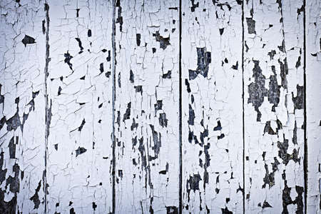 Background of old wood boards with peeling paint Stock Photo - 12922991