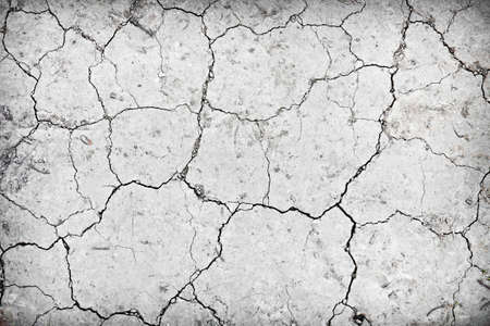 infertile: Background of dry cracked soil dirt or earth during drought