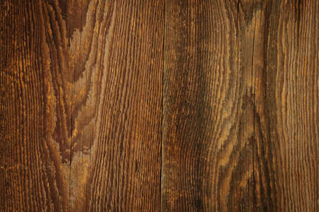 wood texture background: Brown rustic wood grain texture as background