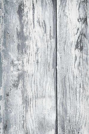 青と白の塗料を剥離と苦しめられた素朴な木のテクスチャの背景
