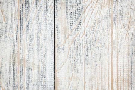 苦しめられた古い塗装木材のテクスチャの背景 写真素材