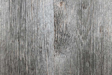 Weathered distressed rustic barn wood as textured background photo