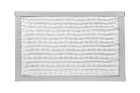 New furnace filter isolated on white background Stock Photo - 19014569