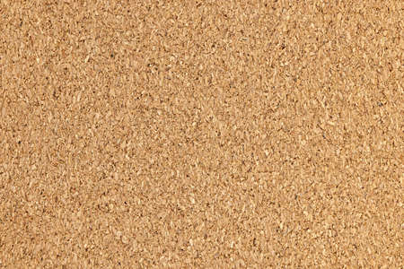 Brown cork board background surface with texture