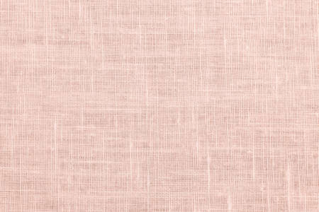 Pink linen woven fabric background or texture