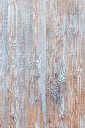 Aged wooden background of weathered distressed rustic wood boards with faded light blue paint showing brown woodgrain texture Stok Fotoğraf - 44060434