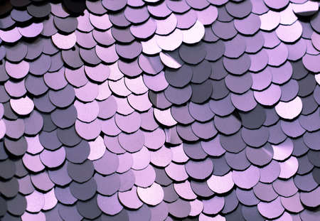 Lilac texture. Elegant art Deco fabric with a round light purple sheen. Fancy sparkles.