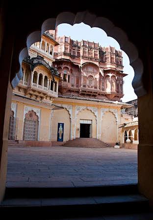 Mehrangarh Fort, Jodhpur, Rajasthan, India  photo