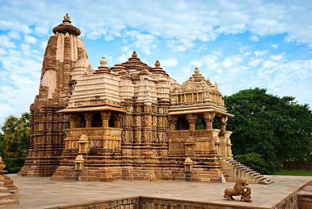 Devi Jagdambi Temple, dedicated to Parvati, Western Temples of Khajuraho.     photo