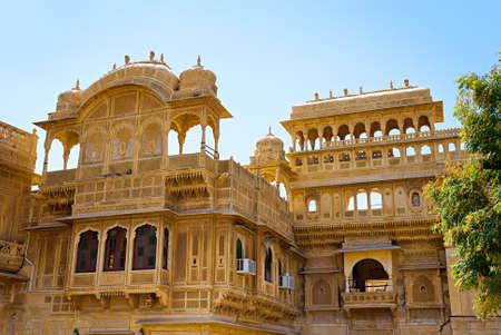 Mandir Palace in Jaisalmer, Rajasthan, India photo