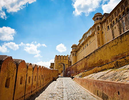 Amber Fort in Jaipur, Rajasthan, India Sajtókép