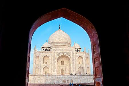 India. Taj Mahal indian palace. Islam architecture. Door to the mosque Stock Photo & India. Taj Mahal Indian Palace. Islam Architecture. Door To The ... pezcame.com