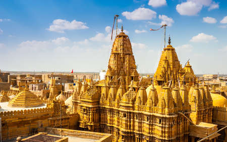 Temple in Jaisalmer Fort, Rajasthan, India.