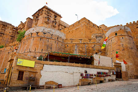 Jaisalmer Fort , the Golden City of Rajasthan, Jaisalmer, India