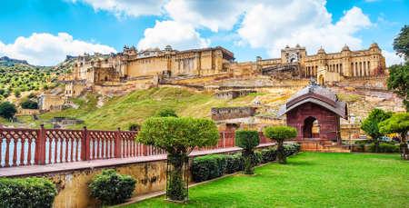 Amber Fort, Jaipur, Rajasthan, India.