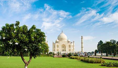 Taj Mahal in sunrise light, Agra, India  Stock fotó